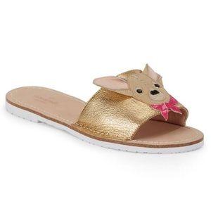 49052b4b5ca6 Kate Spade Shoes - Kate Spade Isadore Chihuahua Sandals! BNWB!